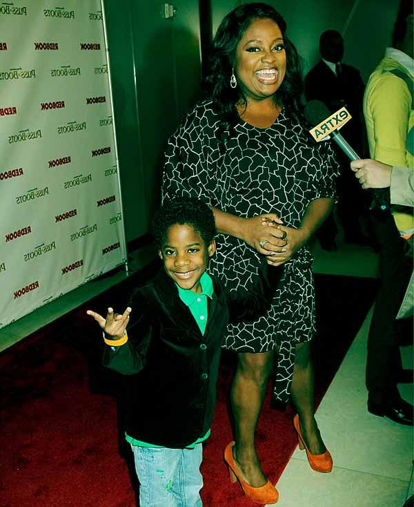 Image of Sherri Shepherd with her son Jeffrey Jr