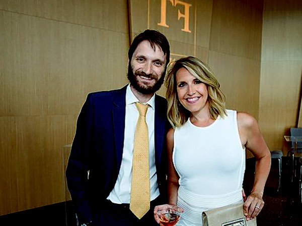 Image of Sinisa Babcic with his wife Poppy Harlow
