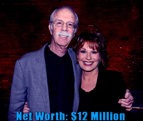 Image of Steve Janowitz wife Joy Behar net worth is $12 million