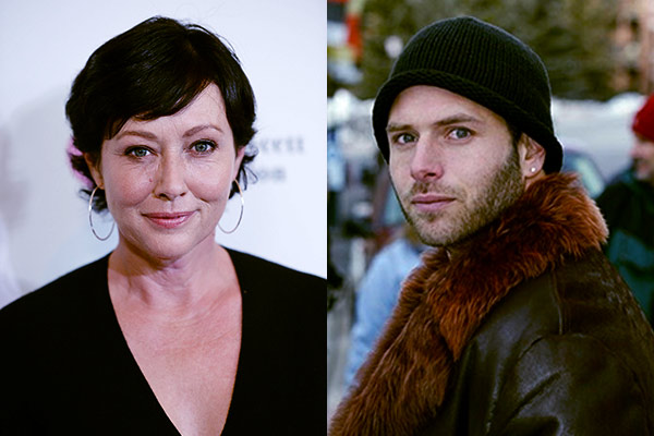Image of Shannen Doherty and her ex-husband Rick Salomon