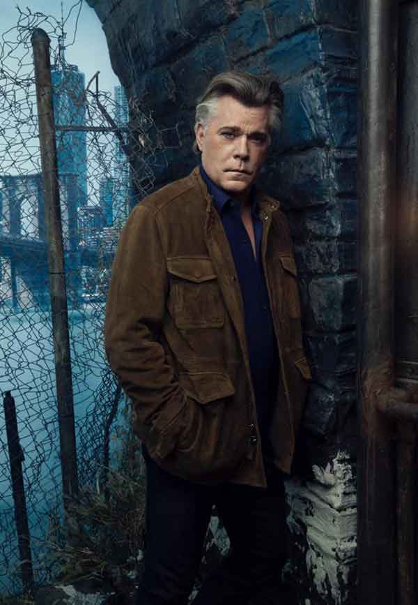Image of Actor Ray Liotta giving an uncanny sharp look