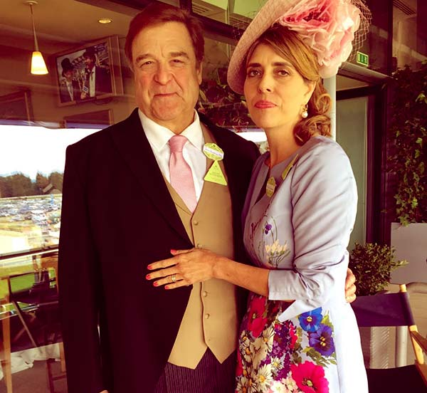 Image of Anna Beth Goodman with her husband John Goodman