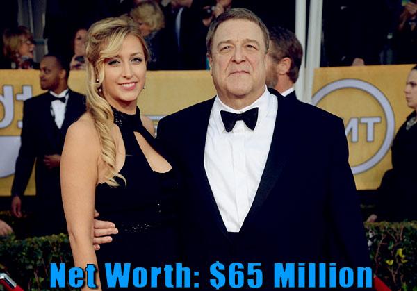 Image of Anna Beth Goodman husband John Goodman net worth is $65 million