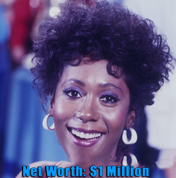 Image of American film actress, Berlinda Tolbert net worth is $1 million