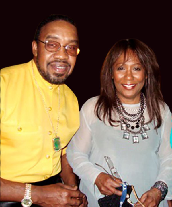 Image of Berlinda Tolbert with her husband Bob Reid