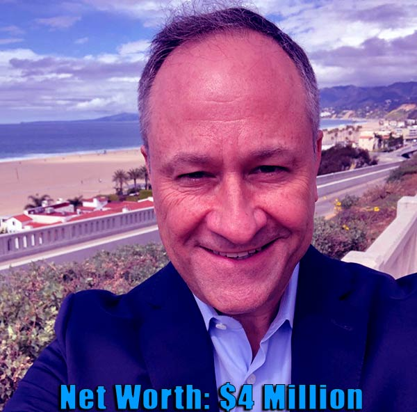 Image of Lawyer, Douglas Emhoff net worth is $4 million
