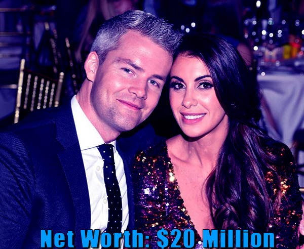 Image of Emilia Bechrakis husband Ryan Serhant net worth is $20 million