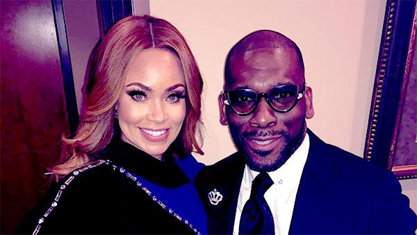 Image of Caption: Gizelle dating again to her ex-husband Jamal H. Bryant