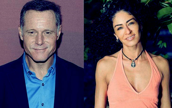 Image of Angie Janu and her ex-husband Jason Beghe
