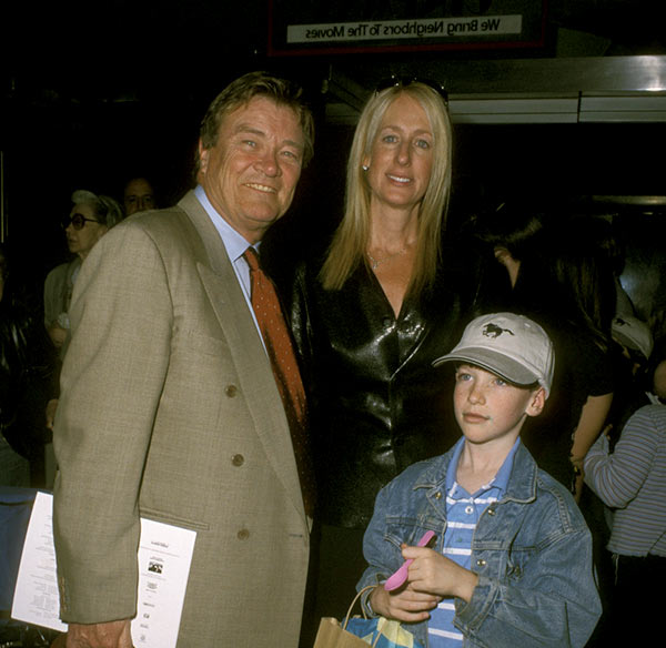 Image of Jennet Conant with her husband Steve Kroft and with their son John Conant Kroft.