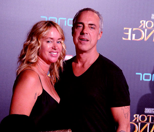 Image of Jose Stemkens with her husband Titus Welliver