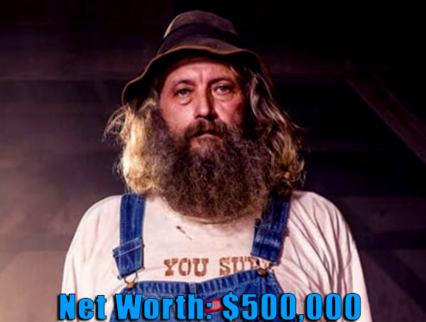 Image of Mountain monsters cast Joseph Lott net worth is $500,000