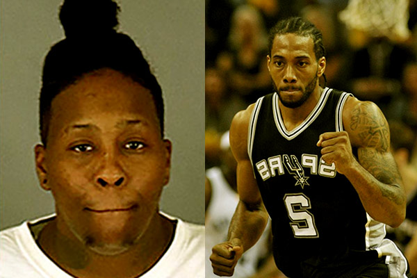 Image of Kawhi Leonard sister Kimesha Monae Williams, for robbing and killing an 84-year-old woman