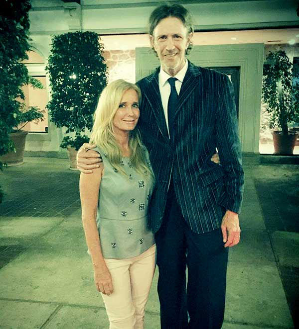 Image of Kim Richards with her first husband G Monty Brinson