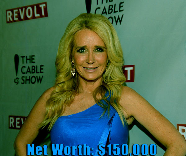 Image of American actress, Kim Richards net worth is $150,000