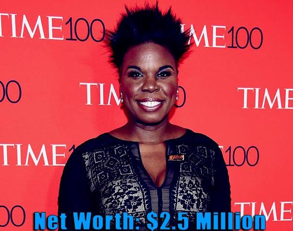 Image of Comedian, Leslie Jones net worth is $2.5 million