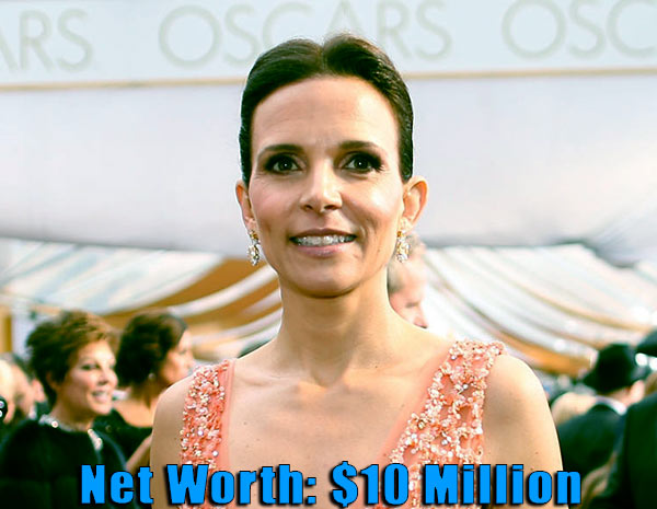 Image of Argentine actress, Luciana Pedraza net worth is $10 million