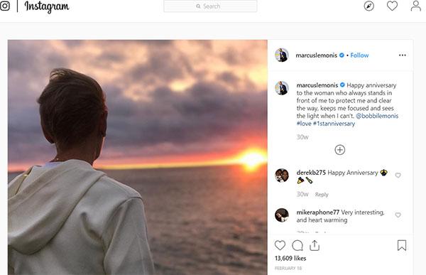 image of Marcus Lemonis Instagram post