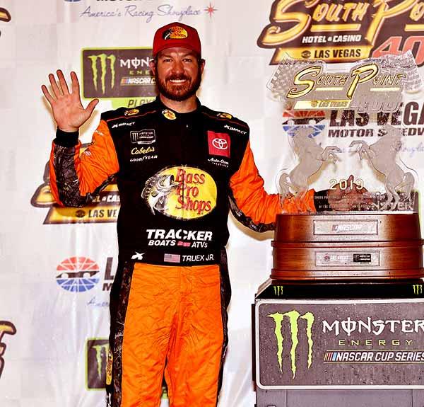 Image of American race car driver, Martin Truex Jr net worth is $30 million
