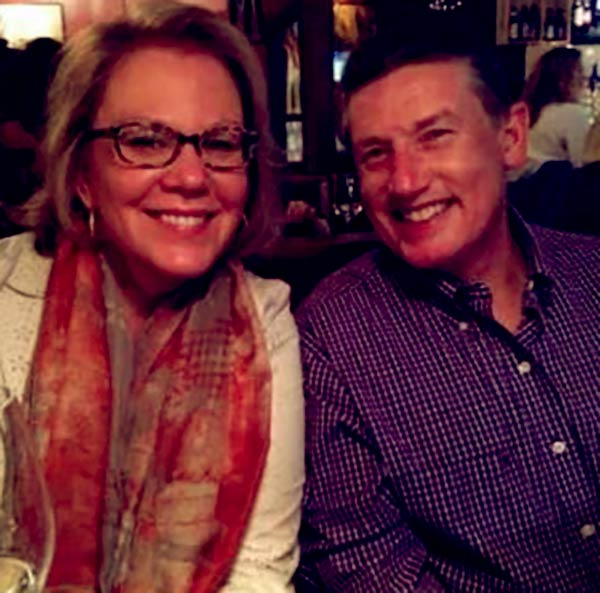 Image of Mike Davis with his wife Tama Davis