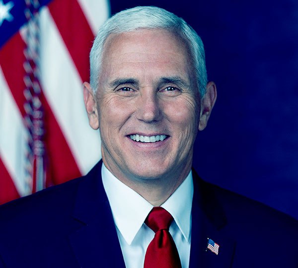 Image of American politician, Mike Pence