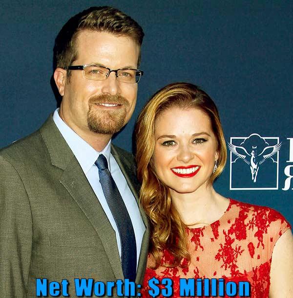 Image of Peter Lanfer wife Sarah Drew net worth is $3 million