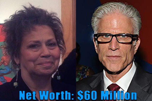 Image of Randy Danson ex-husband Ted Danson net worth is $60 million