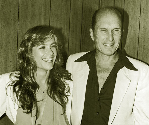 Image of Robert Duvall with his second wife Gail Youngs