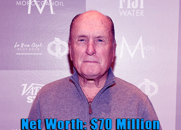 Image of Producer, Robert Duvall net worth is $70 million