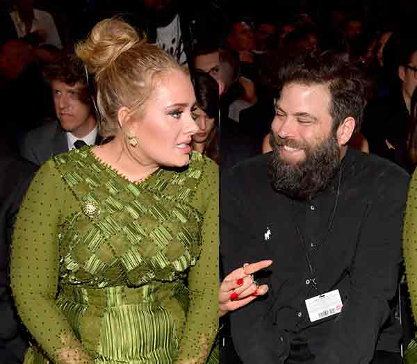 Image of Simon Konecki and his ex wife Adele