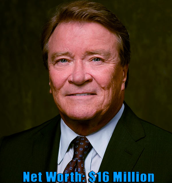 Image of American journalist, Steve Kroft net worth is $16 million