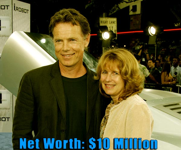 Image of Susan Devlin husband Bruce Greenwood net worth is $10 million