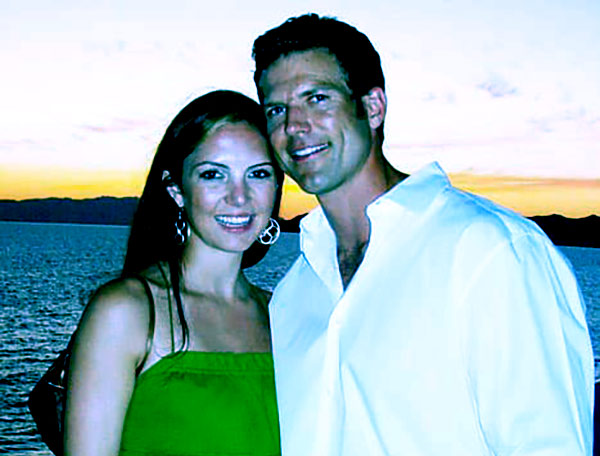Image of Travis Lane Stork with his ex-wife Charlotte Brown