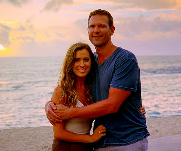 Image of Travis Lane Stork with his girlfriend Parris Bell