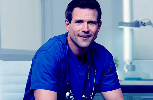 Image of Travis Lane Stork from the TV show, The Doctors