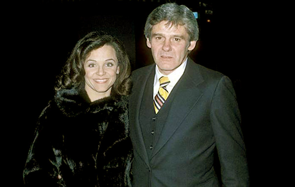Image of Valerie Harper with her first husband Richard Schaal