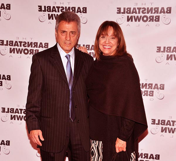 Image of Valarie Harper with her husband Tony Cacciotti.