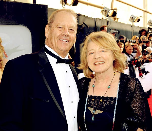 Image of Bruce Beresford with his wife Virginia Duigan