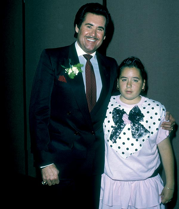 Image of Wayner Newton with his daughter Erin Newton