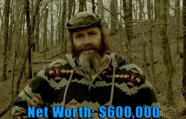Image of Mountain monsters cast Willy McQuillian net worth is $600,000