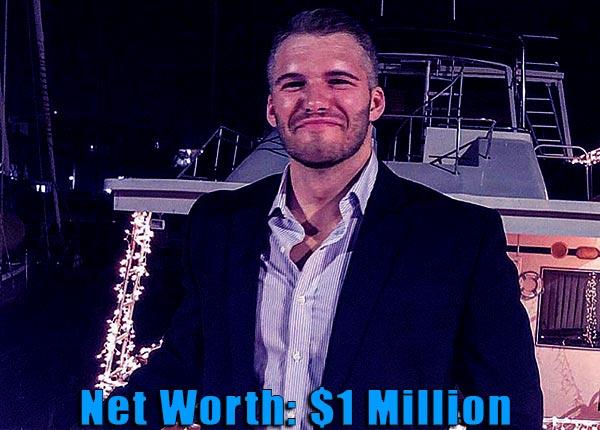 Image of Tv personality, Zack Clayton Carpinello net worth is $1 million