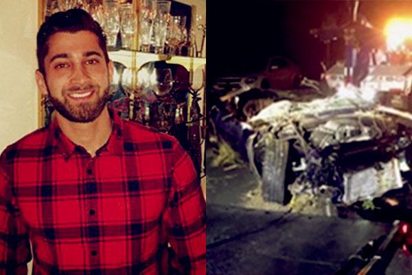 Image of Jared Black car crashed