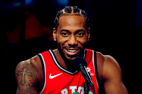 Image of Basketball player, Kawhi Leonard