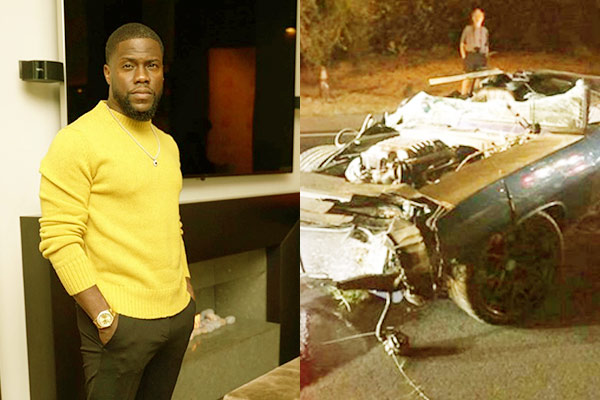 Image of Comedian, Kevin Hart had a fatal car accident