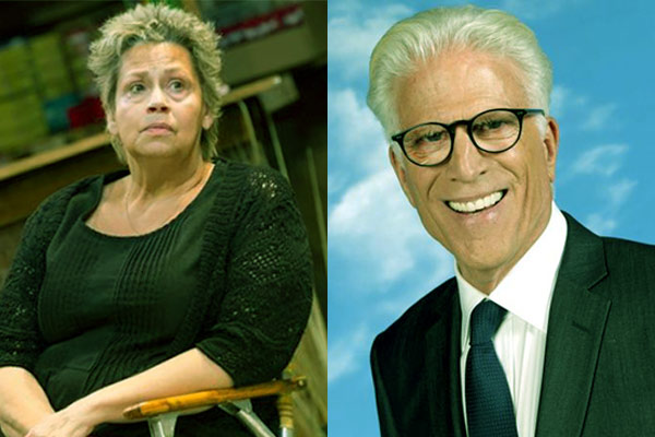 Image of Randy Danson and her ex-husband Ted Danson