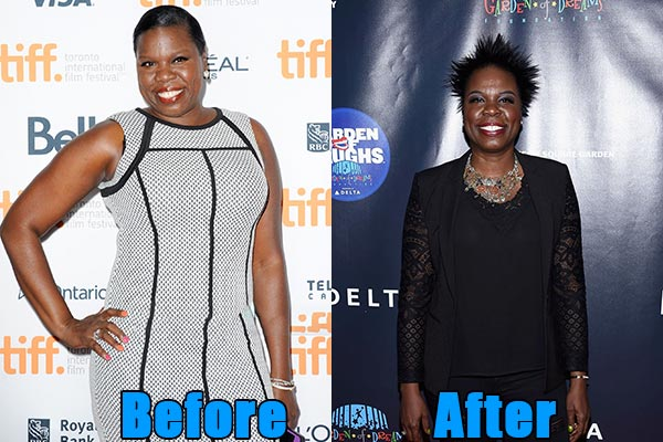 Image of Actor, Leslie Jones weight loss before and after