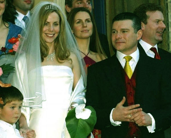 Image of Sally married to ex-husband, Andrew Bermejo until 2014