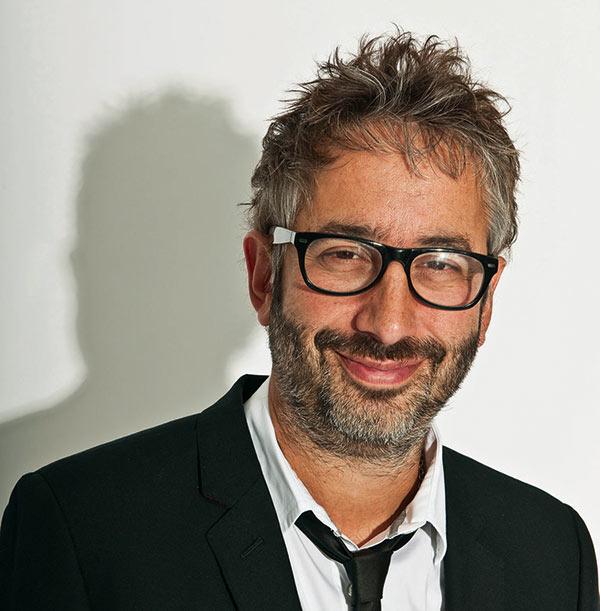 Image of British comedian, David Baddiel