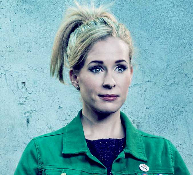 Image of British comedian and actress, Lucy Beaumont
