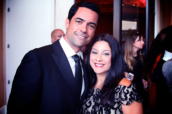 Image of Lily Pino with her husband Danny Pino
